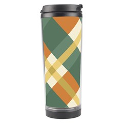 Autumn Plaid Travel Tumbler by Alisyart