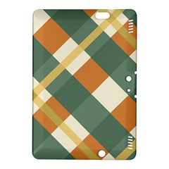 Autumn Plaid Kindle Fire Hdx 8 9  Hardshell Case by Alisyart