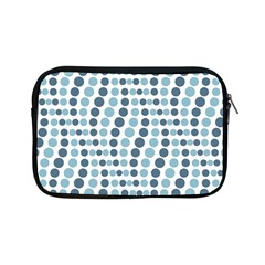 Circle Blue Grey Line Waves Apple Ipad Mini Zipper Cases by Alisyart
