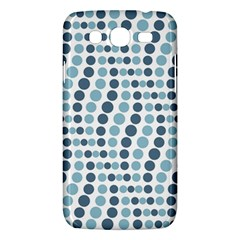 Circle Blue Grey Line Waves Samsung Galaxy Mega 5 8 I9152 Hardshell Case  by Alisyart