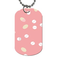 Drug Pink Dog Tag (one Side) by Alisyart