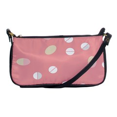 Drug Pink Shoulder Clutch Bags by Alisyart