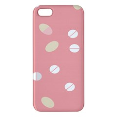 Drug Pink Apple Iphone 5 Premium Hardshell Case by Alisyart