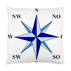 Compass Blue Star Standard Cushion Case (two Sides) by Alisyart