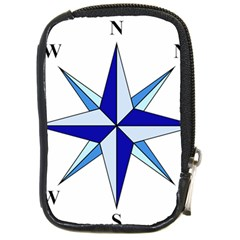Compass Blue Star Compact Camera Cases by Alisyart