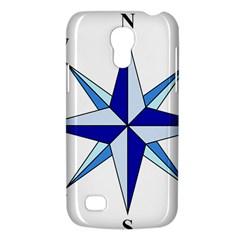 Compass Blue Star Galaxy S4 Mini by Alisyart