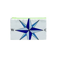 Compass Blue Star Cosmetic Bag (xs) by Alisyart