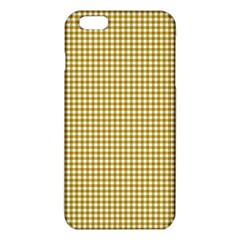 Golden Yellow Tablecloth Plaid Line Iphone 6 Plus/6s Plus Tpu Case by Alisyart