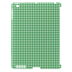 Green Tablecloth Plaid Line Apple Ipad 3/4 Hardshell Case (compatible With Smart Cover) by Alisyart