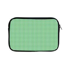 Green Tablecloth Plaid Line Apple Ipad Mini Zipper Cases by Alisyart