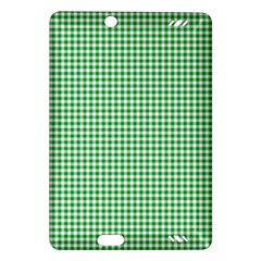 Green Tablecloth Plaid Line Amazon Kindle Fire Hd (2013) Hardshell Case by Alisyart