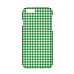 Green Tablecloth Plaid Line Apple Iphone 6/6s Hardshell Case by Alisyart
