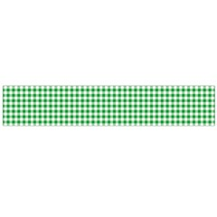 Green Tablecloth Plaid Line Flano Scarf (large) by Alisyart