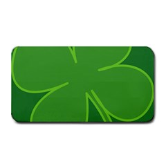 Leaf Clover Green Medium Bar Mats by Alisyart