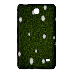 Graphics Green Leaves Star White Floral Sunflower Samsung Galaxy Tab 4 (7 ) Hardshell Case  by Alisyart