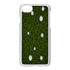 Graphics Green Leaves Star White Floral Sunflower Apple Iphone 7 Seamless Case (white) by Alisyart