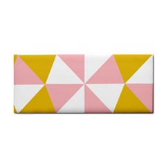 Learning Connection Circle Triangle Pink White Orange Cosmetic Storage Cases by Alisyart