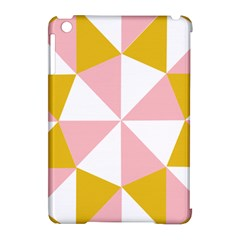 Learning Connection Circle Triangle Pink White Orange Apple Ipad Mini Hardshell Case (compatible With Smart Cover) by Alisyart