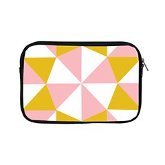 Learning Connection Circle Triangle Pink White Orange Apple Ipad Mini Zipper Cases by Alisyart