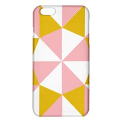 Learning Connection Circle Triangle Pink White Orange Iphone 6 Plus/6s Plus Tpu Case by Alisyart