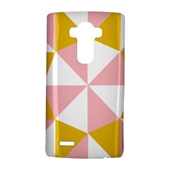 Learning Connection Circle Triangle Pink White Orange Lg G4 Hardshell Case by Alisyart