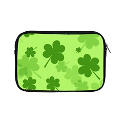 Leaf Clover Green Line Apple Ipad Mini Zipper Cases by Alisyart