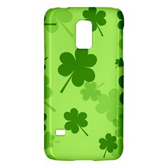 Leaf Clover Green Line Galaxy S5 Mini by Alisyart