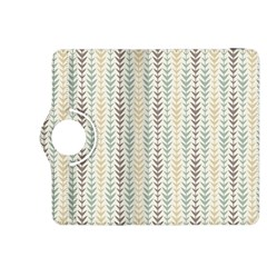 Leaf Triangle Grey Blue Gold Line Frame Kindle Fire Hdx 8 9  Flip 360 Case by Alisyart