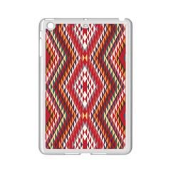 Indian Pattern Sweet Triangle Red Orange Purple Rainbow Ipad Mini 2 Enamel Coated Cases by Alisyart