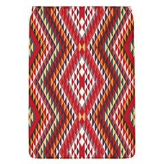 Indian Pattern Sweet Triangle Red Orange Purple Rainbow Flap Covers (l)  by Alisyart