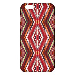 Indian Pattern Sweet Triangle Red Orange Purple Rainbow Iphone 6 Plus/6s Plus Tpu Case by Alisyart