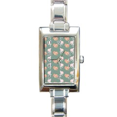 Lifestyle Repeat Girl Woman Female Rectangle Italian Charm Watch by Alisyart