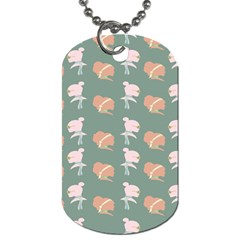 Lifestyle Repeat Girl Woman Female Dog Tag (two Sides) by Alisyart