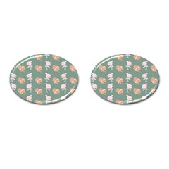 Lifestyle Repeat Girl Woman Female Cufflinks (oval) by Alisyart