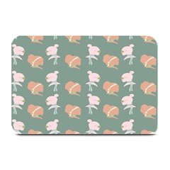 Lifestyle Repeat Girl Woman Female Plate Mats by Alisyart