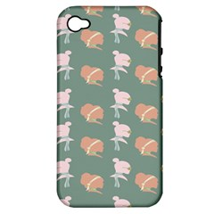 Lifestyle Repeat Girl Woman Female Apple Iphone 4/4s Hardshell Case (pc+silicone) by Alisyart