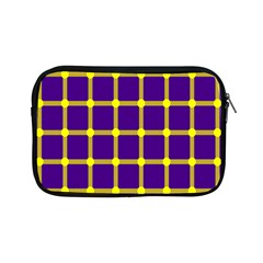 Optical Illusions Circle Line Yellow Blue Apple Ipad Mini Zipper Cases by Alisyart