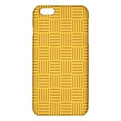 Plaid Line Orange Yellow Iphone 6 Plus/6s Plus Tpu Case by Alisyart