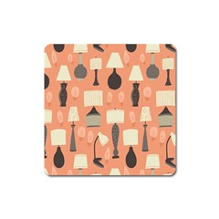 Lamps Square Magnet by Alisyart
