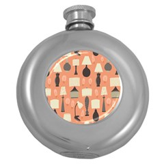 Lamps Round Hip Flask (5 Oz) by Alisyart