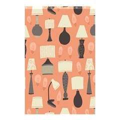 Lamps Shower Curtain 48  X 72  (small)  by Alisyart