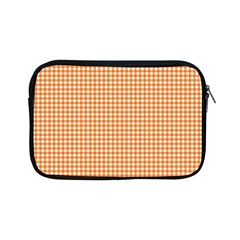 Orange Tablecloth Plaid Line Apple Ipad Mini Zipper Cases by Alisyart