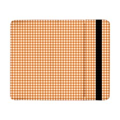 Orange Tablecloth Plaid Line Samsung Galaxy Tab Pro 8 4  Flip Case by Alisyart