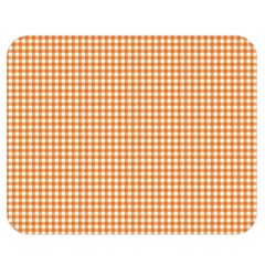 Orange Tablecloth Plaid Line Double Sided Flano Blanket (medium)  by Alisyart