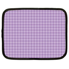 Purple Tablecloth Plaid Line Netbook Case (xl)  by Alisyart