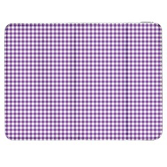 Purple Tablecloth Plaid Line Samsung Galaxy Tab 7  P1000 Flip Case by Alisyart