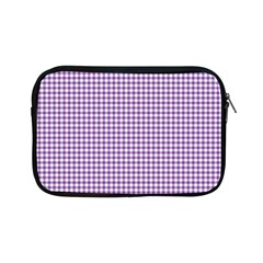 Purple Tablecloth Plaid Line Apple Ipad Mini Zipper Cases by Alisyart