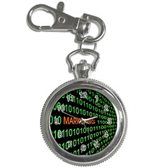 Marketing Runing Number Key Chain Watches