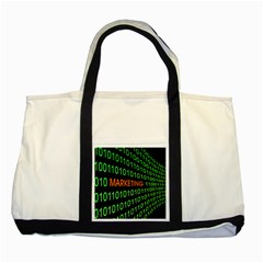 Marketing Runing Number Two Tone Tote Bag by Alisyart