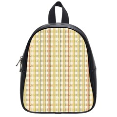Tomboy Line Yellow Red School Bags (small)  by Alisyart